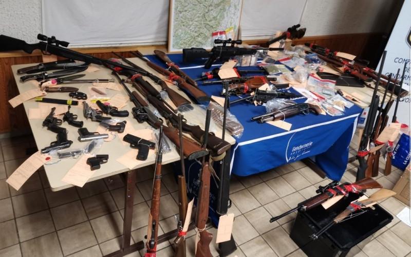 photographies gendarmerie des Vosges