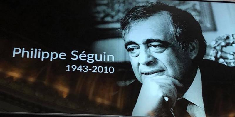 Photo d'archives Hommage à Philippe Séguin à l'Assemblée Nationale (photo Jean Jacques Gaultier)