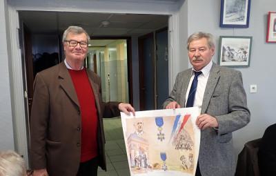 (Crédit photographique Association Nationale des membres de l'Ordre National du Mérite des Vosges)