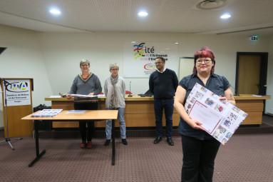 Émilie Pinot reçoit son diplôme