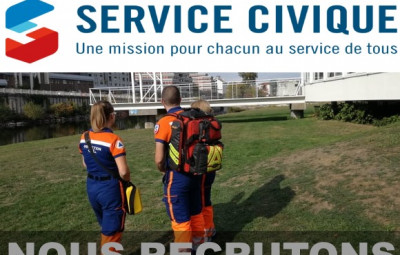 photo service civique - recrutement