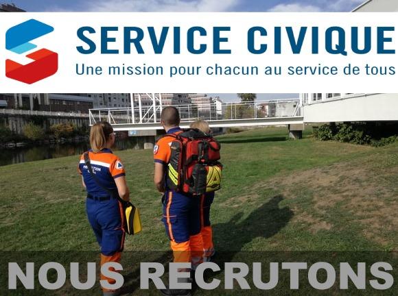 Protection Civile des Vosges – Service Civique