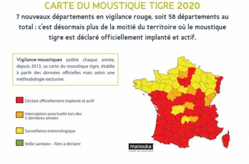information et carte https://vigilance-moustiques.com/carte-du-moustique-tigre-2020/