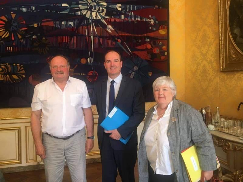 Vosges – Le Premier Ministre reçoit le président des maires ruraux
