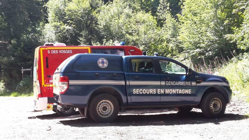 Vosges – 2 vététistes blessés