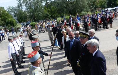 Les Cadets de la Défense Nationale ont été félicités par le Préfet Pierre Ory