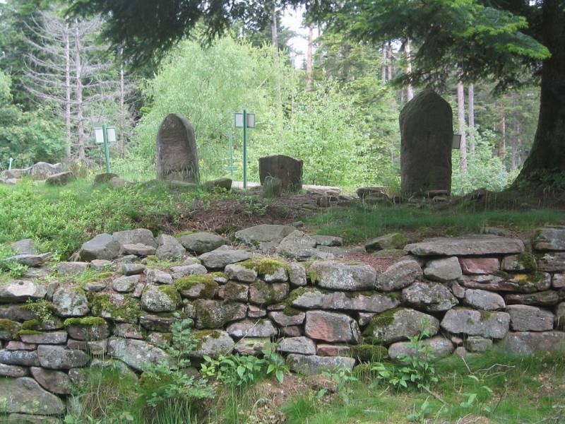 Le camp celtique de la Bure.