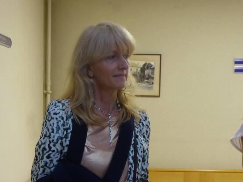 Christine Lorimy, dirigeante de l'Imagerie d'Epinal