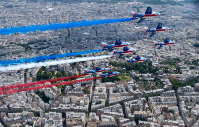photo Page FB Patrouille de France