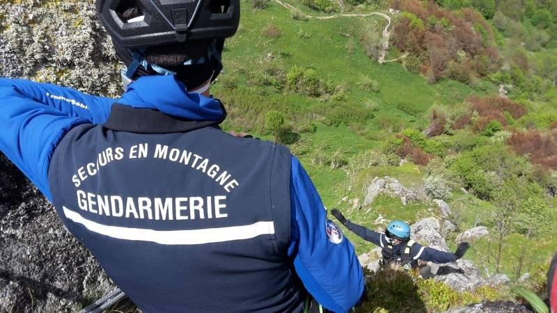 Photo d'illustration / Page Facebook du « Secours Montagne des Vosges – Peloton de Gendarmerie de Montagne des Vosges »