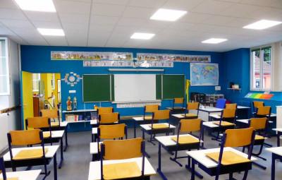 Une classe de l'école d'Ambrail d'Epinal