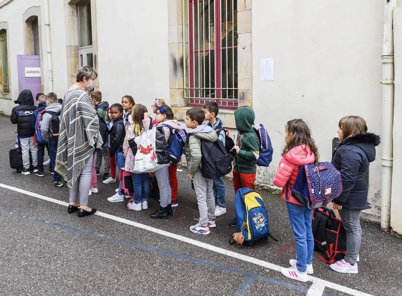 La rentrée scolaire à l'école du Centre à Epinal. Photos : pbp-photographie