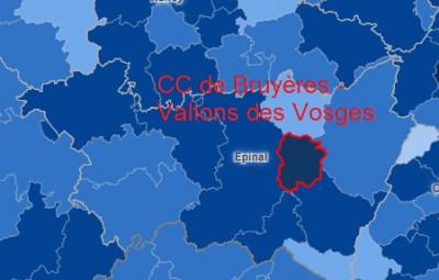 Carte Santé Publique France avec Géodes. Taux d'incidence sur 7 jours glissants par 100000 habitants.