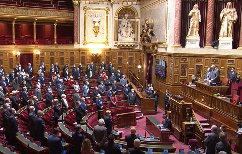 Capture d'écran de la vidéo de Public Sénat