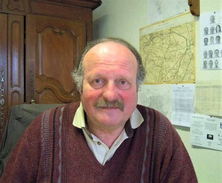 Michel Fournier (crédits photo mairie Les Voivres), photo d'archives