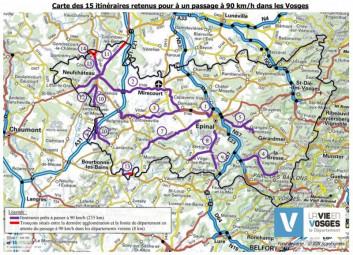 carte-itineraire90kmh-vosges
