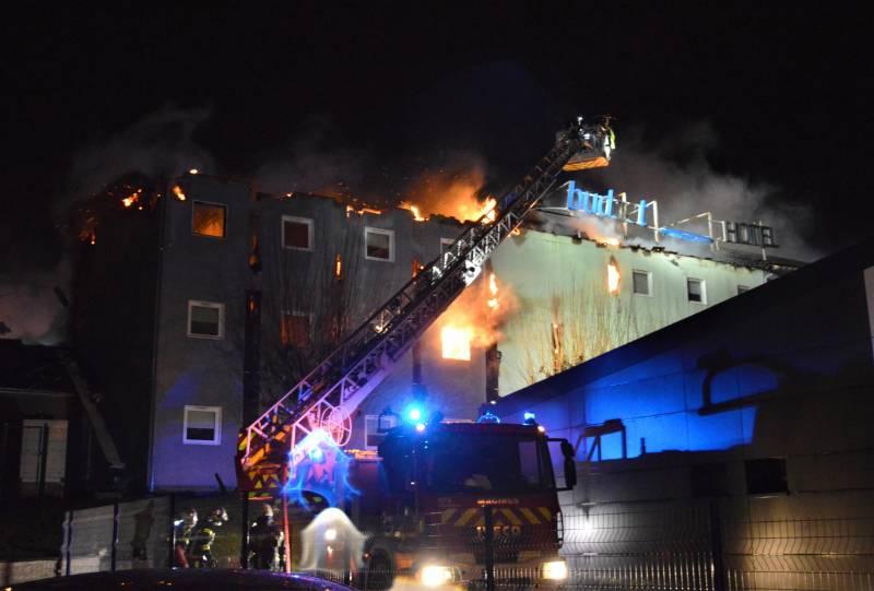 Vosges : l'hôtel Ibis Budget d'Épinal ravagé par les flammes