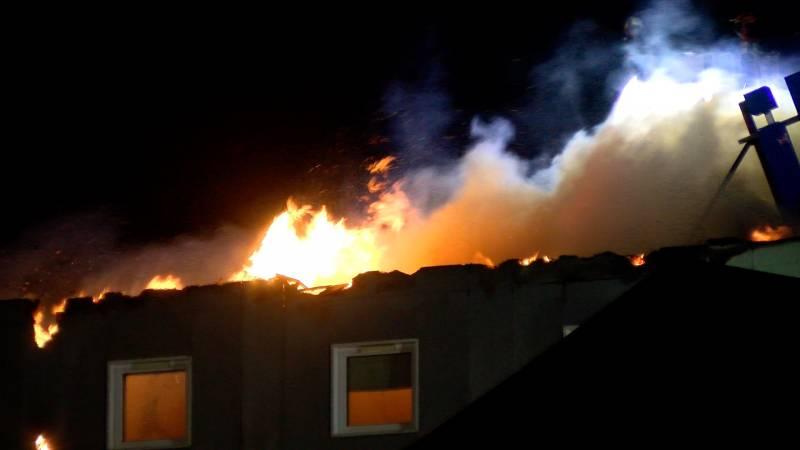 La vidéo de l'incendie de l'hôtel Ibis-Budget