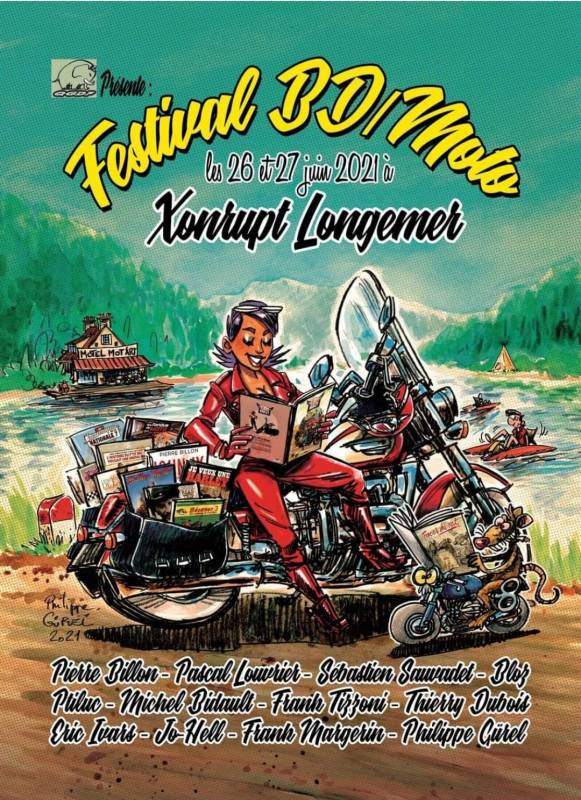 affiche BD moto