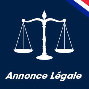 Annonce légale – 7454961507