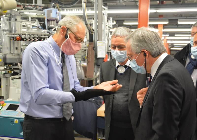 L'entreprise « Tricotage des Vosges » lauréate du fonds de soutien aux investissements industriels