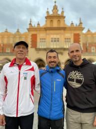 Patrick, Christophe & Alexis à Cracovie