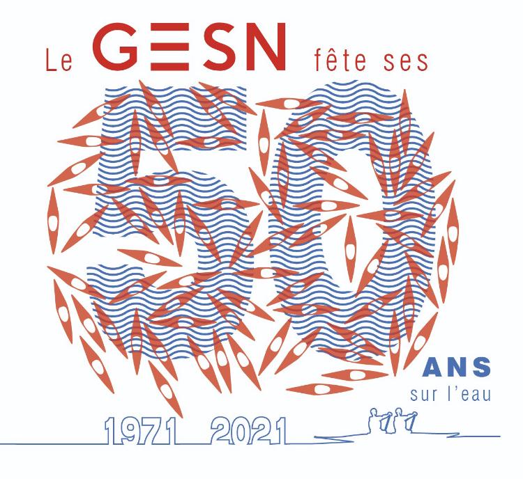 Logo 50 ans GESN