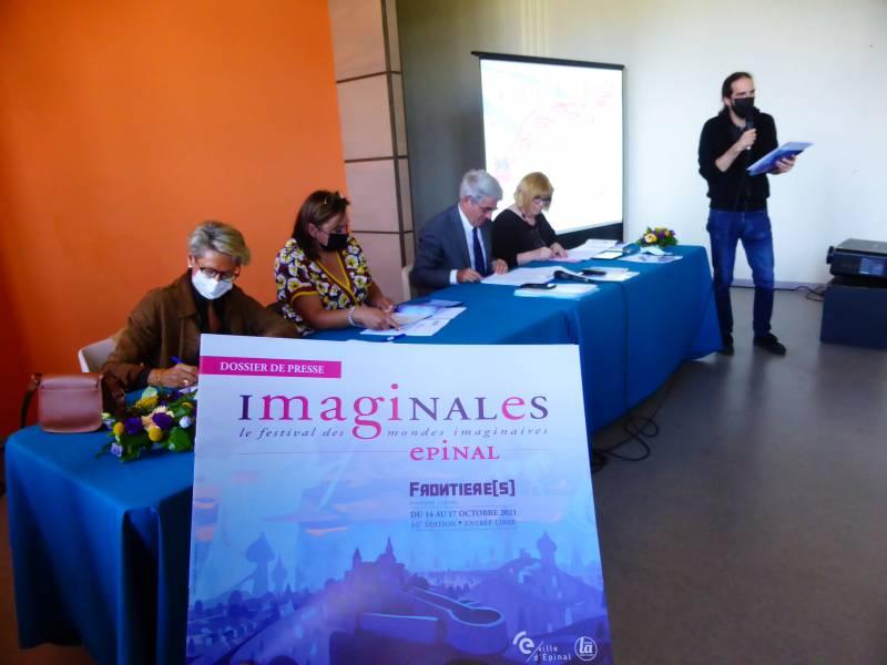 Imaginales 2021 : l'imaginaire prend le pouvoir à Epinal