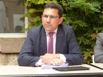 Emmanuel Bourel, l'inspecteur d'académie des Vosges