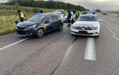 (Photographie Gendarmerie de Meurthe-et-Moselle)